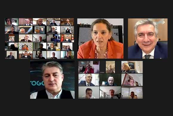 Sanayiciler Gürcan Karakaş'a TOGG'u sordu