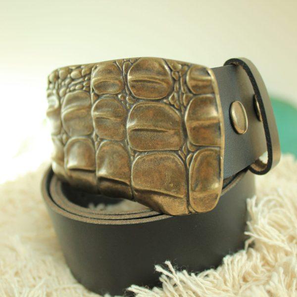 Accessoires ceinture CROCO cuir mode sanbaya.fr