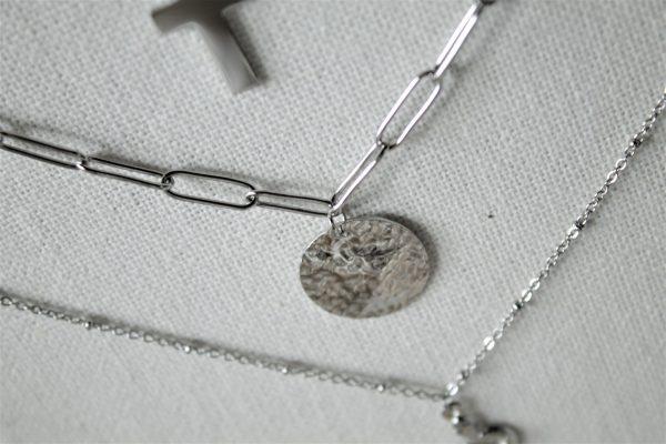 Collier argent CARRA bijoux SANBAYA.FR Bijouterie