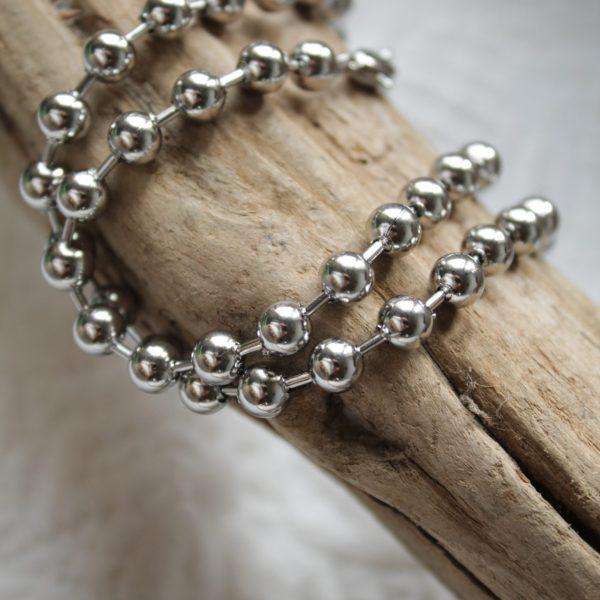 Bijoux argenté SANBAYA.FR Bijouterie Fantaisie perle acier