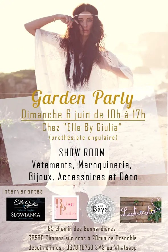 garden party 6 juin 21