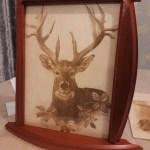 Custom Pyrography/ Engraving & Coasters- slate- wood