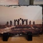 Custom Photo Rock Slate 16 x 11cm