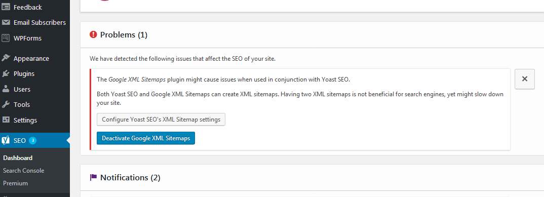 Wordpress not updating changes