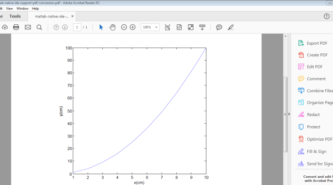 Method to obtain pdf with tight bounding box from Matlab
