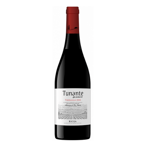 Botella de vino tunante