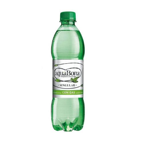 Botellita de agua con gas