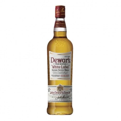 Botella de whisky Dewar