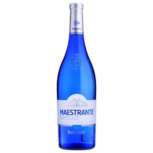 Botella de vino blanco Maestrante