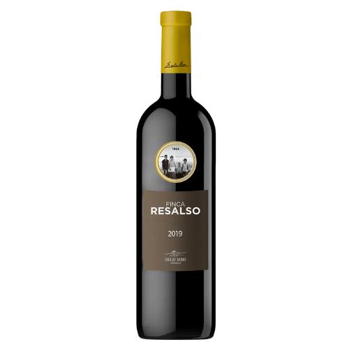 Botella de vino finca resalso