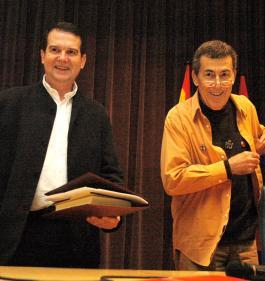 Abel Caballero e Sánchez Dragó