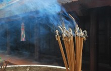 ధూపము - మతానికి చెలియలికట్ట - నమ్మకానికి చెలిమి కట్టు