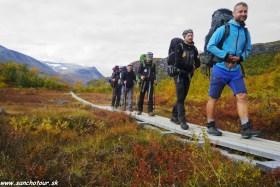 Švédsko - Kungsleden trek + Kebnekaise 2099m.n.m.