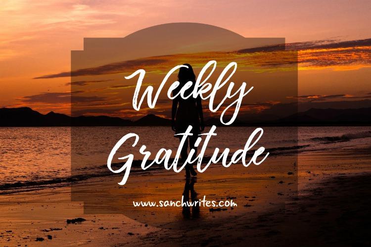 Weekly gratitude 2018 3/52
