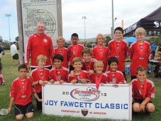 SC United boys U12 team finished in second-place at the Joy Fawcett Classic Tournament. Courtesy photo