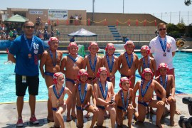 The Orange County Water Polo 10U mixed team placed third at the 2013 USA Water Polo National Junior Olympics on August 4. Courtesy photo