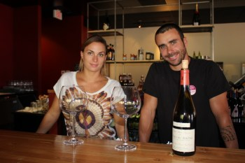 Anne-Sophie Derre and Alexandre Ponot of Barnoa Wine Bar aim to provide a prototypical French bistro experience in Talega. Photo by Jim Shilander