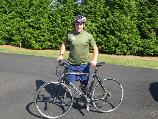 Veteran Makes Dana Point Stop along Cross-Country Ride ...