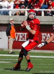 Utah quarterback Travis Wilson has been given a clean bill of health and will play football in 2014. Photo courtesy University of Utah Athletics