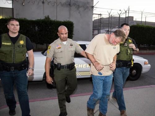"San Bernardino County Sheriff's Department Officers arrested Charles ""Chase"" Merritt of Homeland for the murder of the McStay in Nov. 2014. Photo: San Bernardino Sheriff's Department"