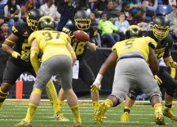 San Clemente's Sam Darnold threw a touchdown and an interception in the U.S. Army All-American Bowl on Jan. 3. Photo: Courtesy All-American Games