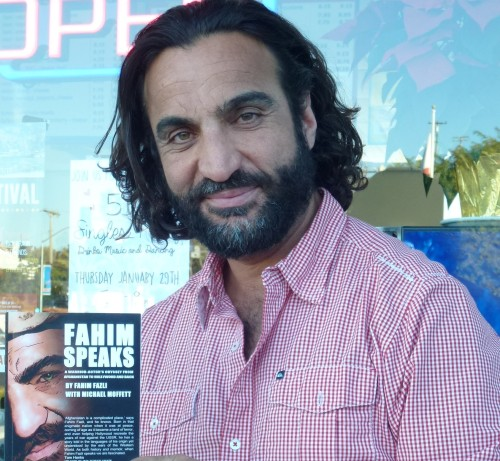 "Fahim Fazli of Dana Point is looking forward to his book ""Fahim Speaks"" being made into a movie. Also an actor, Fazli has appeared in dozens of television shows and movies, most recently appearing in the movie ""American Sniper."" Photo: Tom Blake"