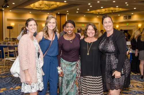 Photo: Courtesy The Pregnancy Resource Center. The Pregnancy Resource Center volunteers pictured with Star Parker. Pictured from left: Suzette Robison, Keira Thornton, Star Parker, Diane Ashby, and Sophia Wirkkala.