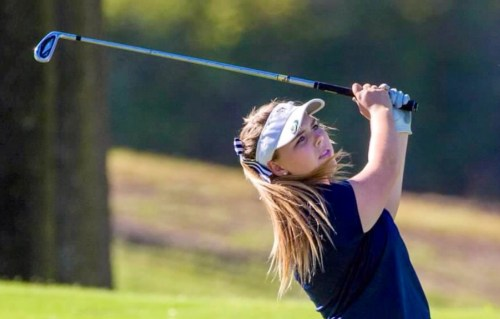 Emily Lichty placed 18th at the Los Angeles City Women's Golf Championship this week. Photo: Courtesy of the Licthy family