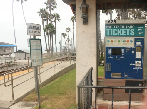 At the Aug. 4 meeting, the San Clemente City Council discussed the possibility of eliminating the Pier Bowl train stop in an effort to alleviate confusion with schedules and tickets. The notion has drawn the ire of a collection of community members. Photo: Eric Heinz