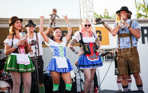 A scene from last year's San Clemente Oktoberfest. Photo: Courtesy