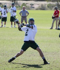 Collin Zines was named the Colorado State University men's lacrosse team's rookie of the year. Photo: Courtesy