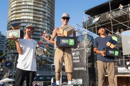 Ryan Sheckler claimed his 15th Dew Tour title in Long Beach on July 23. Photo: Courtesy Dew Tour