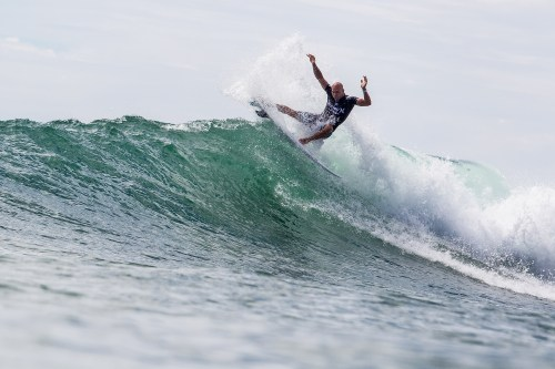 Kelly Slater will compete at the Hurley Pro. Photo: Courtesy Hurley Pro/Rowland