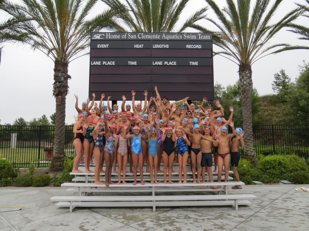 San Clemente Aquatics team will compete in this year's Ocean Festival competitions. Photo: Danny Ritz