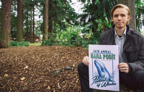 Alex Van Brasch was selected as the 2017 Festival of Whales Logo Contest Design Winner. The 2018 contest will open on Tuesday, Aug. 15. Photo: Courtesy of Quintin Hardgrove
