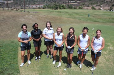 The San Clemente girls golf team returns nine players from last year's league championship squad. Photo: Steve Breazeale