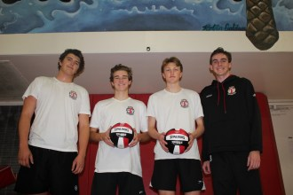 The San Clemente boys volleyball team will compete in a tough league and a young, exciting group hopes to validate coach Ken Gladstone's decision to keep coaching. Photo: Zach Cavanagh