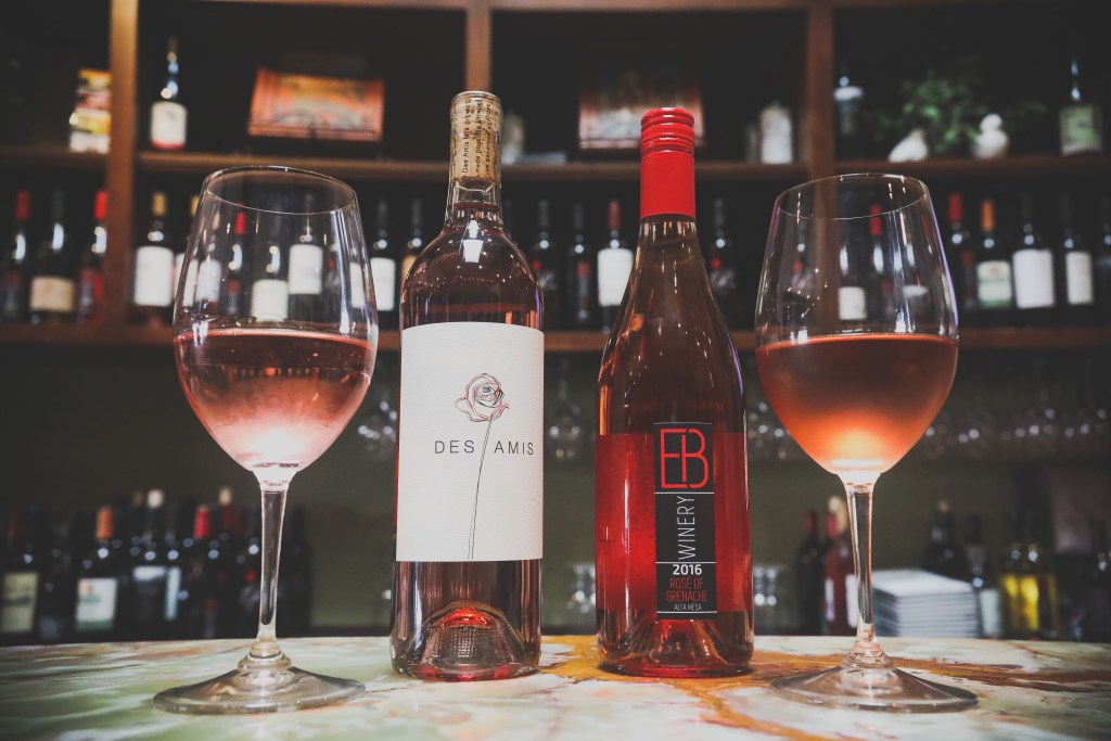 This summer, We Olive & Wine Bar will feature six rosé wines on Thursdays for all-day happy hour prices. Photo: Rachael Mattice