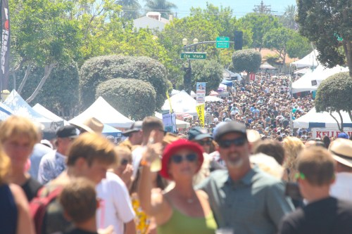 Thousands of people flocked to the San Clemente Fiesta Music Festival on Aug. 12 on Avenida Del Mar.