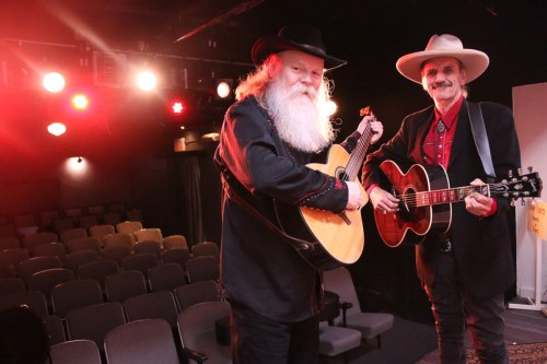 Michael Devine and Craig Christy will perform their 'Thick and Thin' show on April 12 and 13 at the Cabrillo Playhouse.
