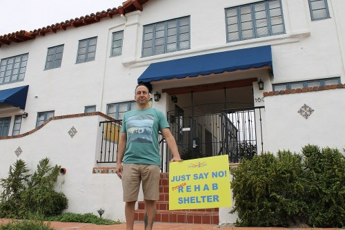Casey Dahm is one of many longtime residents at Vista Del Mar Apartments in North Beach where tenants are being evicted to make room for an incoming facility to house the chronically homeless. /Photo by Cari Hachmann