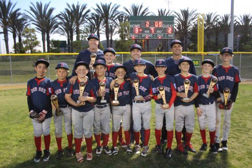 SCLL Majors Red Sox. American bracket champions.