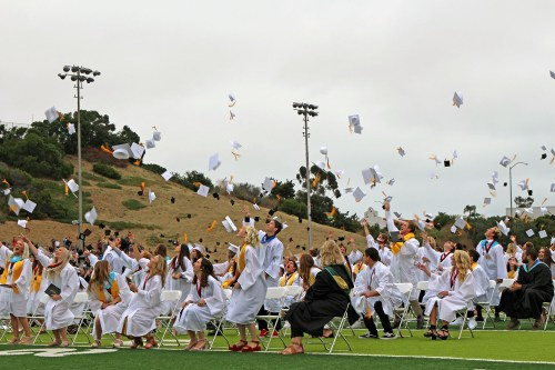 SCHS seniors celebrate on their graduation day, June 6. Photo: Chelsie Rex