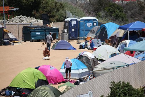 A proposed settlement agreement over two homelessness lawsuits that the Orange County Board of Supervisors agreed to in a closed-door meeting Tuesday, July 16, has sparked concerns among South County officials who are unclear about its intent and possible impact to the region. Photo: Adam Gilles