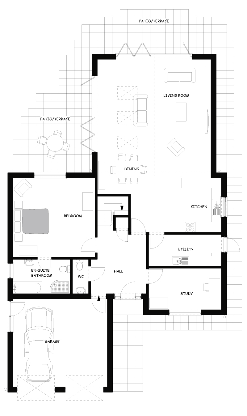 House Type One Ground Floor