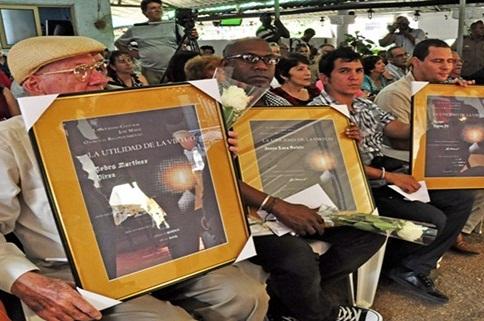 Reconocimientos martianos para personalidades de la cultura cubana