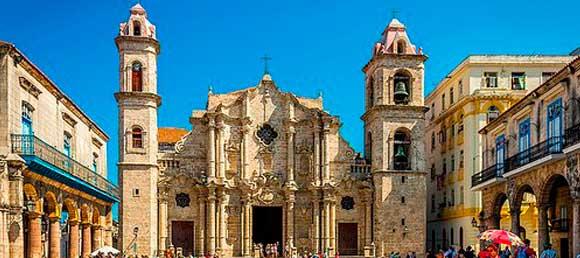 Historia de la Plaza de la Catedral de La Habana