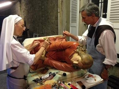 Marie-Madeleine aux soins intensifs