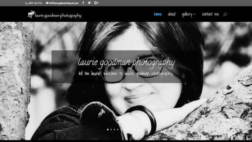 Laurie Goodman Photography Website