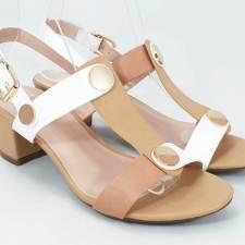 Sandale dama bej Theresa